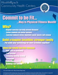 May is Physical Fitness Month